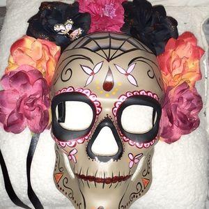 Day of the Dead* Mask Skull Catrina